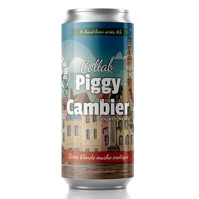 The Piggy Brewing Company - Collab Piggy X Cambier (NE DIPA  - 8%) - 44cl