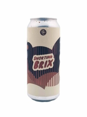 Brix City Brewing & Bolero Snort Brewing (USA) –  Snorting Brix (Imperial Stout) - 10% - Canette 47cl