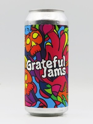 Brix City Brewing (USA) –  Grateful Jams (Double New England IPA) - 8% - Canette 47cl