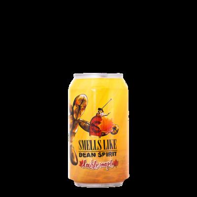 Mikerphone Brewing (USA) - Imperial Smells Like Bean Spirit - Double Maple / café & sirop d'érable (Imperial Stout) - 10.5% - canettes 33cl