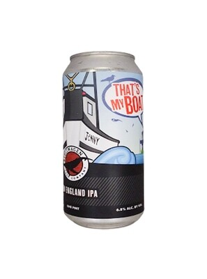 Stellwagen Beer Company (USA) - That's My Boat (New England IPA) - 6.8% - canette 47 cl