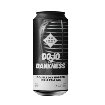 FrauGruber Brewing (ALL) - Dojo of Dankerness (New England IPA 6.66%) - Canette 44cl