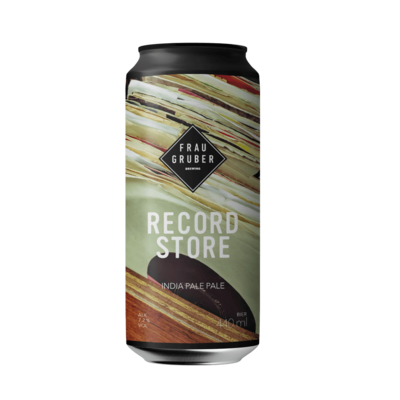 FrauGruber Brewing (ALL) - Record Store (New England IPA 7.2%) - Canette 44cl