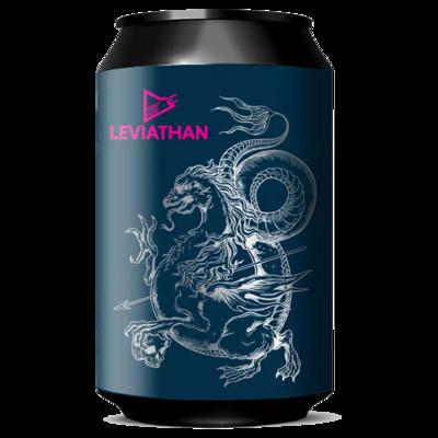 Funky Fluid (POL) - Leviathan (Baltic Porter - 12%) - Canette 33cl