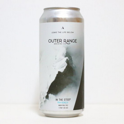 Outer Range (USA) - In The Steep DDH Azacca (DDH IPA - 6.7%) - Canette 47.3cl