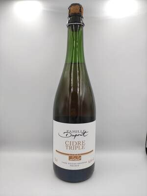 Cidrerie Famille Dupont (FR) - Cidre Triple - 75 cl - 8,5%
