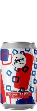 Brasserie Fauve (FR) - Perles De Pluie (Double New England 8%) - Canette 33cl