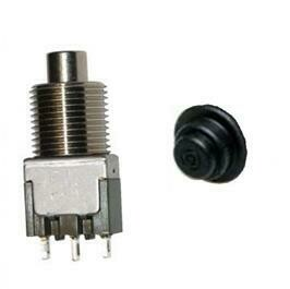 Scanreco Push Button and Rubber 44514