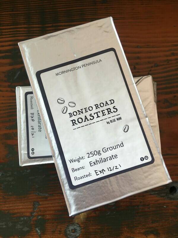 Ground Coffee Brick - Boneo Road Roasters (250gm)