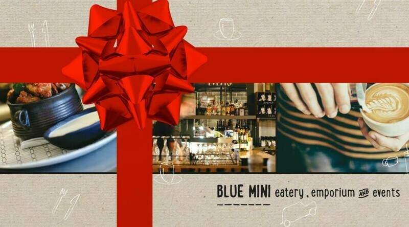 Blue Mini Gift Voucher (for use in store) $100