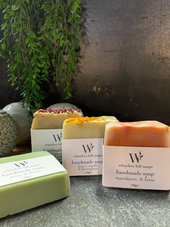 Wheelers Hill soap bar 120g