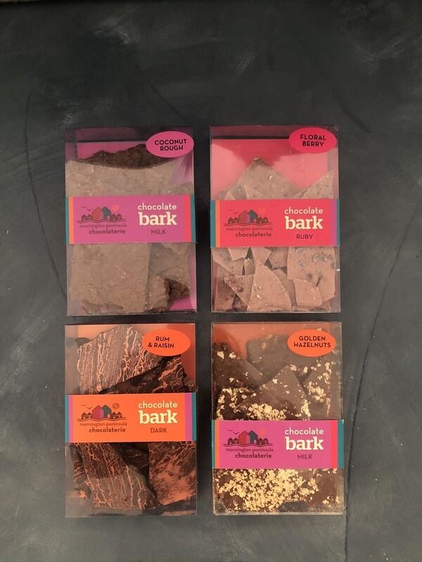 Coconut Rough (milk) Chocolate Bark - Mornington Peninsula Chocolaterie