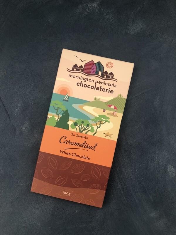 Caramelised White Chocolate - Mornington Peninsula Chocolaterie