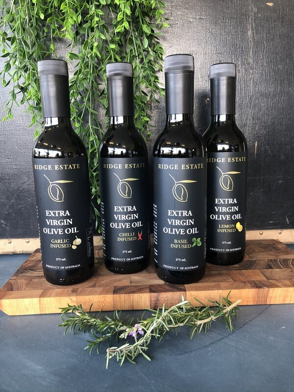 Basil Infused Extra Virgin Olive Oil - Ridge Estate