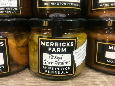 Pickled Green Tomatoes - Merricks Farm