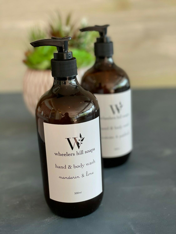 Liquid Soap - Wheelers Hill (500ml)
