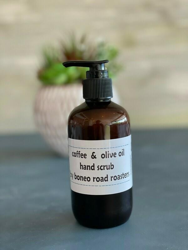 Boneo Road Roasters Coffee & Olive Oil Hand Scrub - Wheelers Hill
