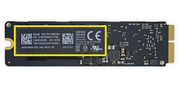 Macbook Air SSD Drive (Hard-Disk) 128GB