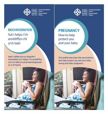 Taflen beichiogrwydd - Sut i helpu i'ch amddiffyn chi a'ch babi / Pregnancy - How to protect you and your baby leaflet Taflen / Leaflet