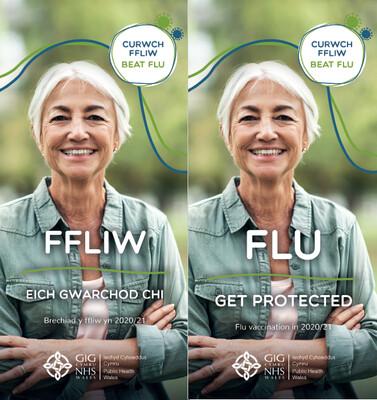 Y Ffliw. Amddiffyn eich hun! 2020-21/  Flu. Get protected! 2020-21*