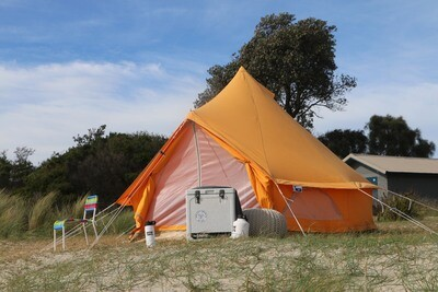 3m Bell Tent Special Edition: Tangerine