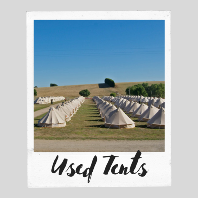 Contact Us for Used Tents