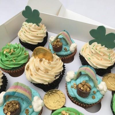 Luxury St. Patrick's Day Cupcakes - Minimum order 12 Cupcakes