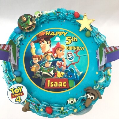 Toy Story 4 Edible Image Cake