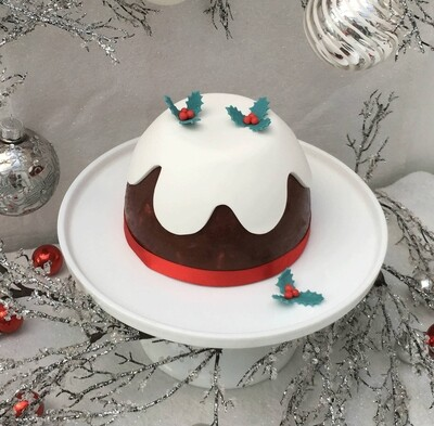 Luxury Christmas Chocolate Biscuit Pudding