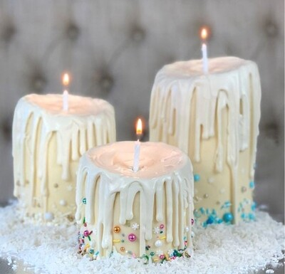One Extra Height Butter Cream Candle Cake