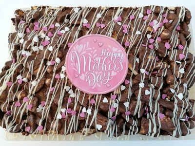 Mother's Day  Luxury Chocolate Biscuit Slab