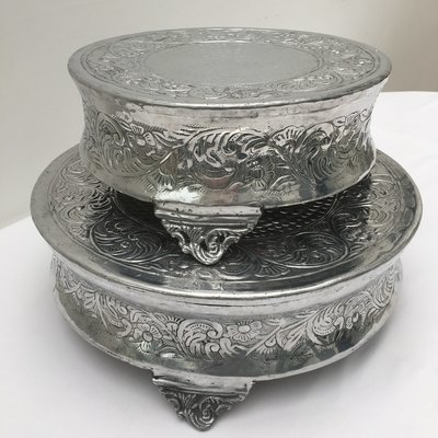 Silver - Antique Style Stands - code ASR004 - LARGE SIZE