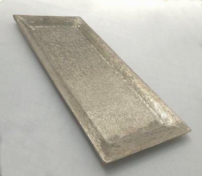Silver - Rectangle - Sweet / Macaron Platter - Code SRMP30