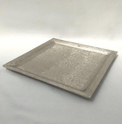 Silver - Square - Sweet / Macaron Platter - Code SSMP31
