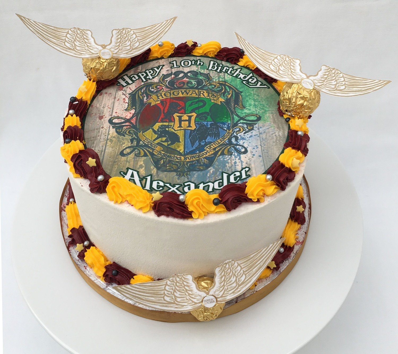 Harry Potter Edible Image Cake