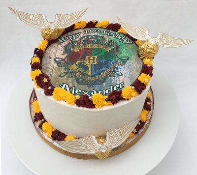 Harry Potter Edible Image Cake
