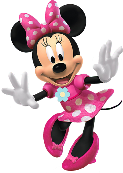 Minnie Mouse Edible Image Cake