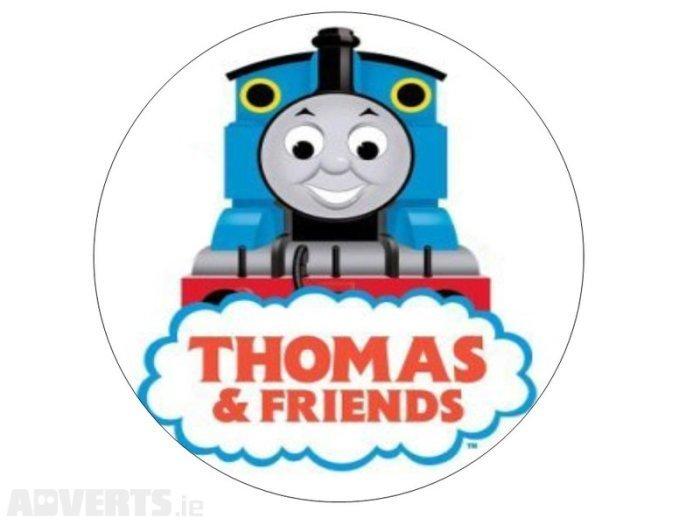 Thomas the Tank Edible Image Cake