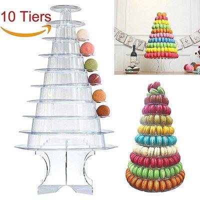 Acrylic & Plastic Macaron Stand  Code:  APM 35