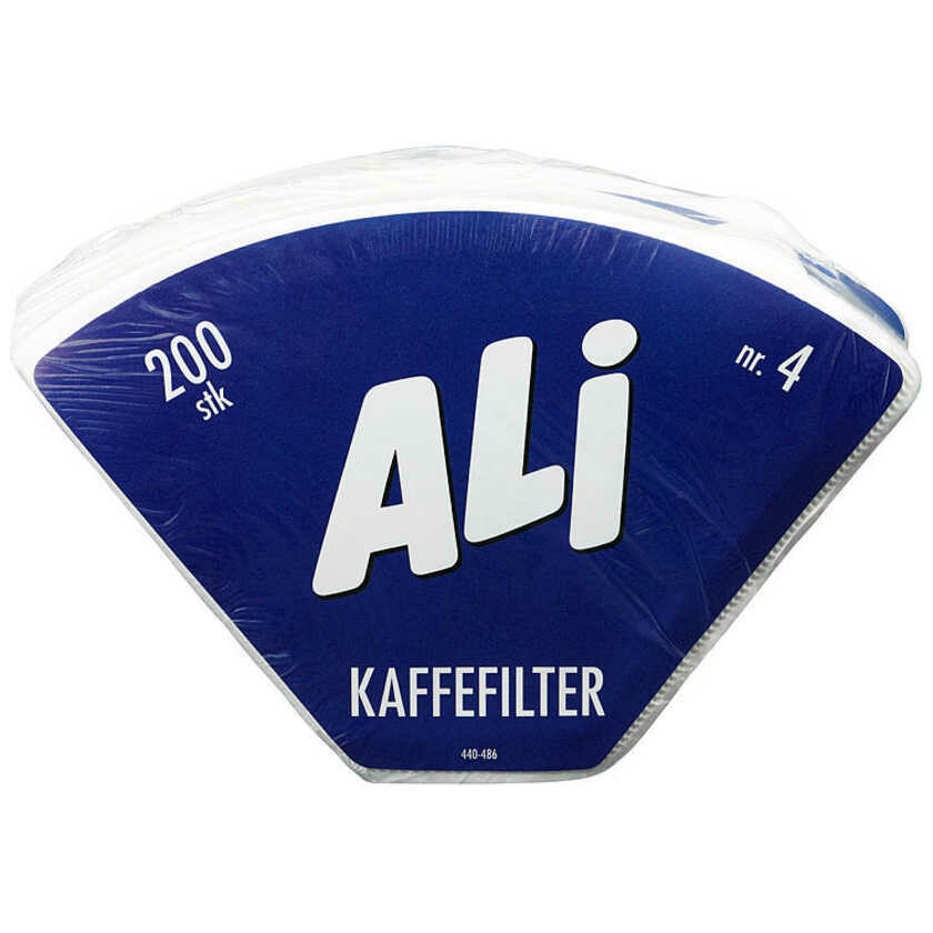 Kaffefilter 200 stk
