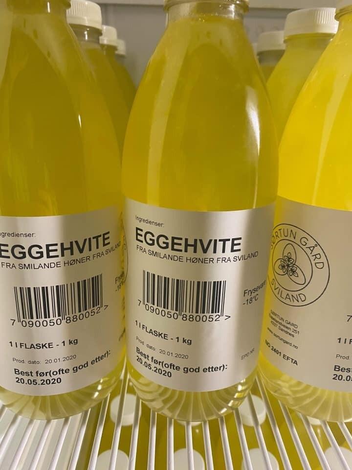 1 l Eggehvite