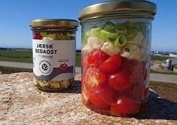 Jærsk Bedaost - Tørket tomat