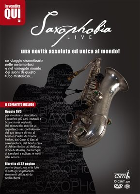 SAXOPHOBIA Live