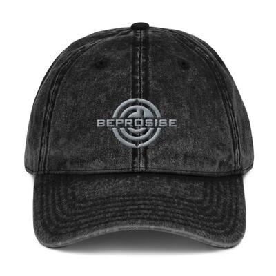 Beprosise Vintage Cotton Twill Cap