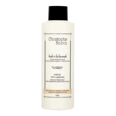 Christophe Robin Moisturising hair oil with Lavender.