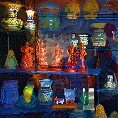 Ceramic windows