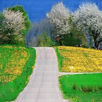 Spring in Bjäre