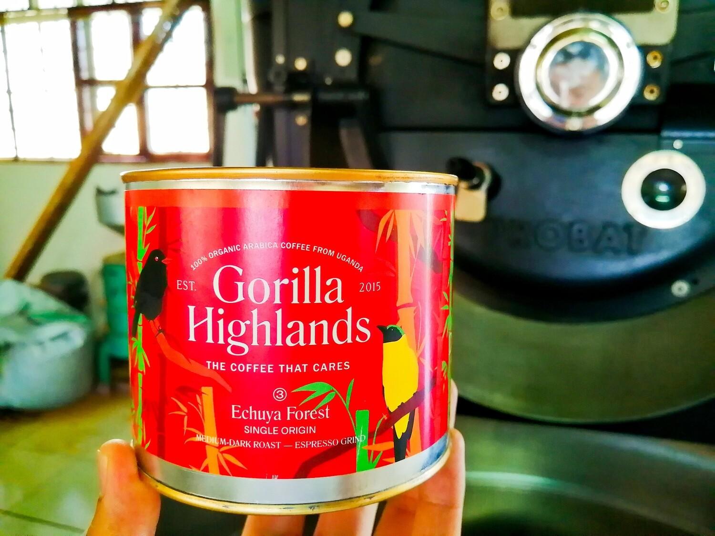 ゴリラ・ハイランズ・コーヒー  Enchuya Forest  粉コーヒー 100g
