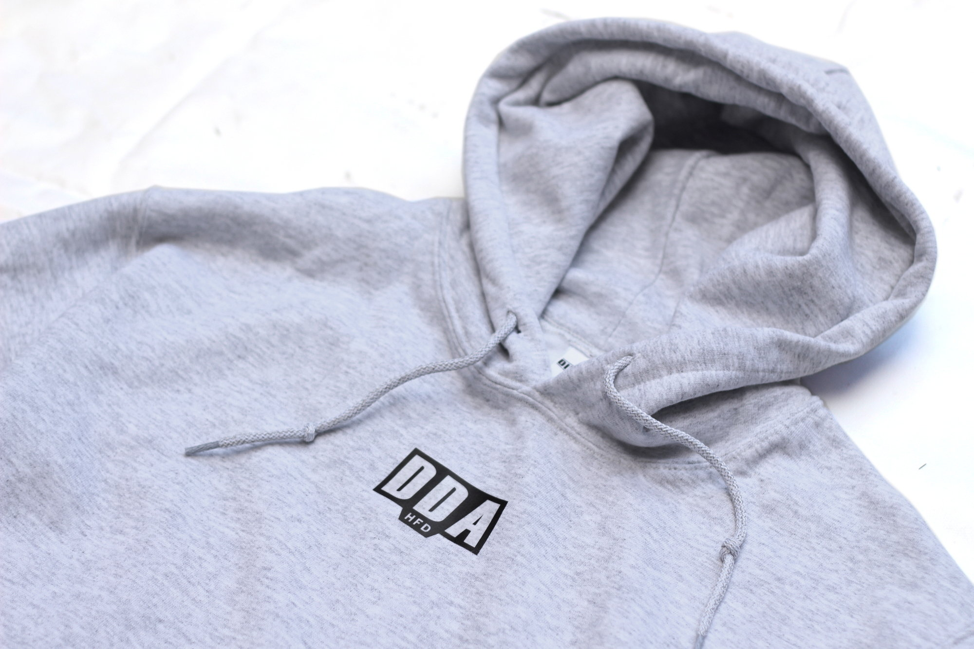 DDA Hfd Hoodie - Ash Grey