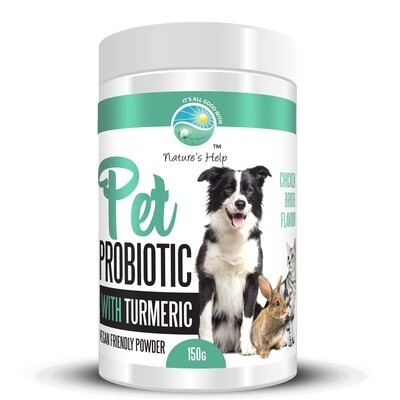 Pet Probiotic with Turmeric Powder